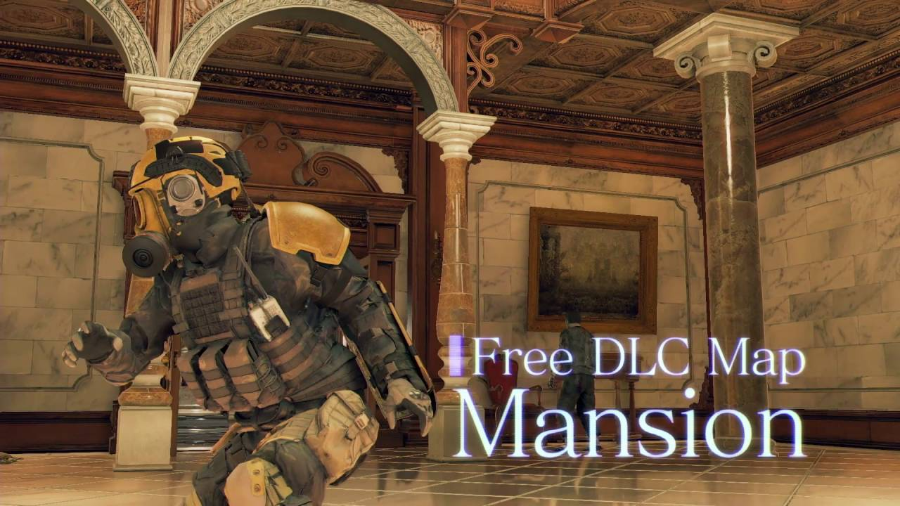 Umbrella Corps - Free DLC Mansion Map!