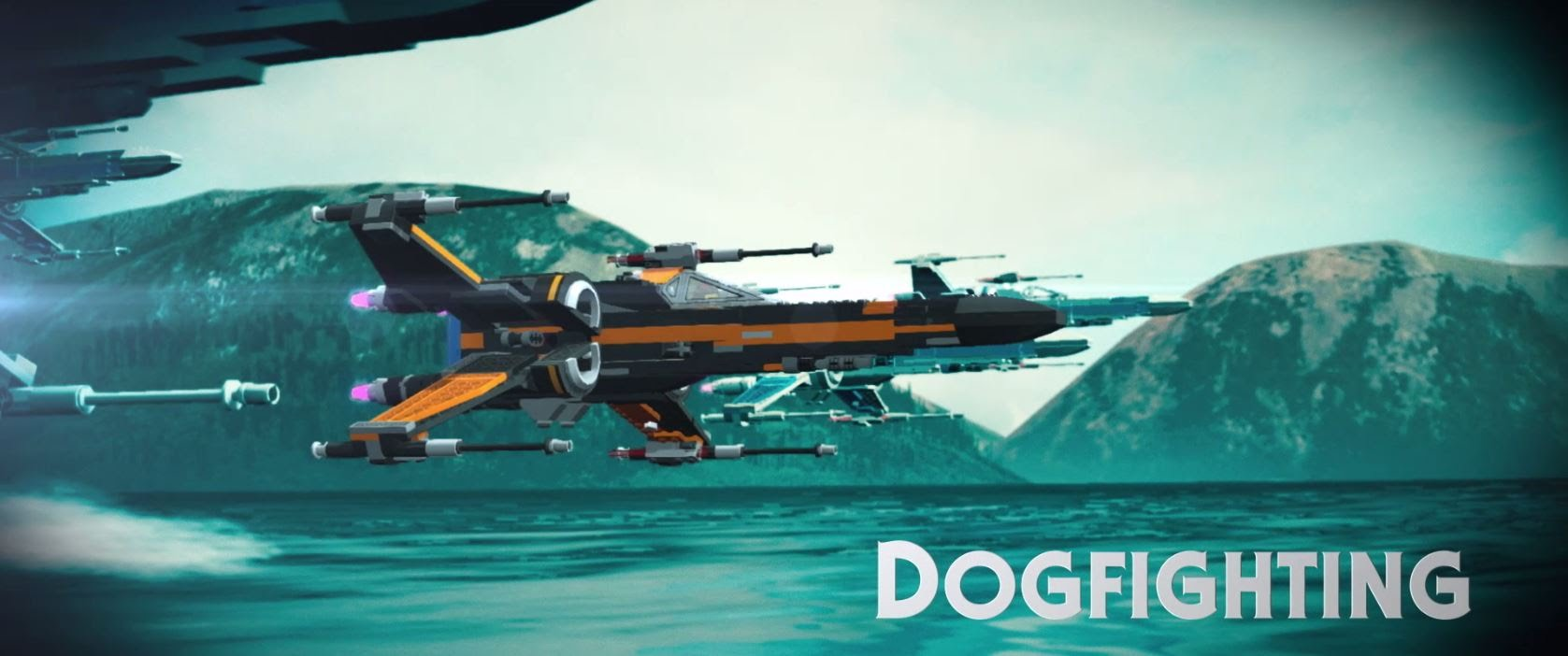 LEGO Star Wars: The Force Awakens | Dogfighting