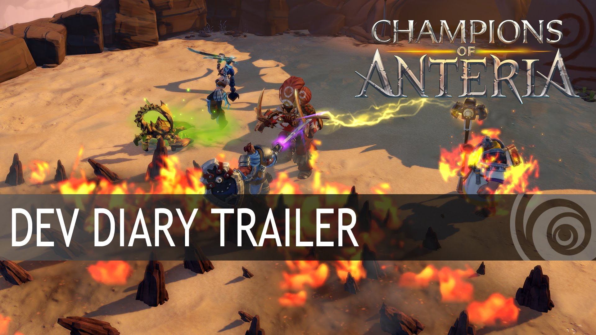 Champions of Anteria: Dev Diary Trailer.