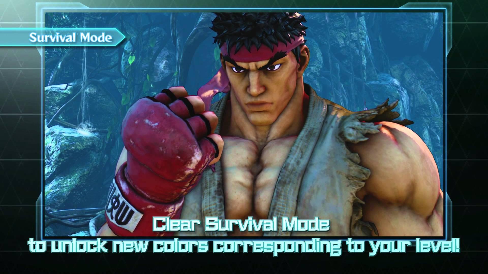 Street Fighter V Game Modes Trailer
