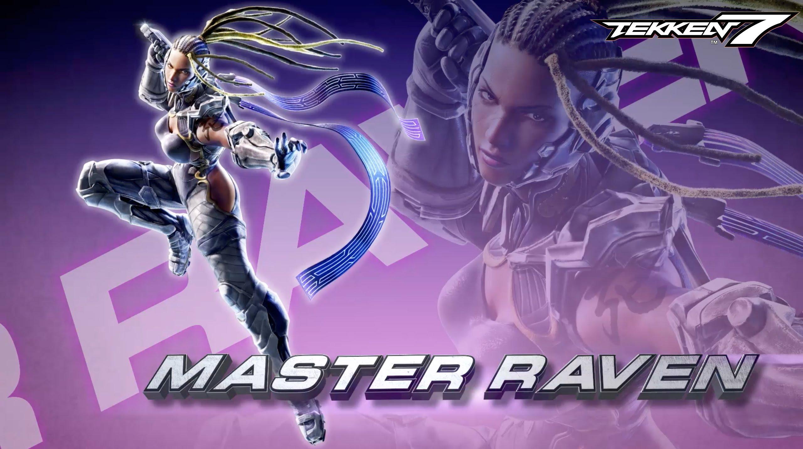 Tekken 7 – Master Raven Reveal Trailer