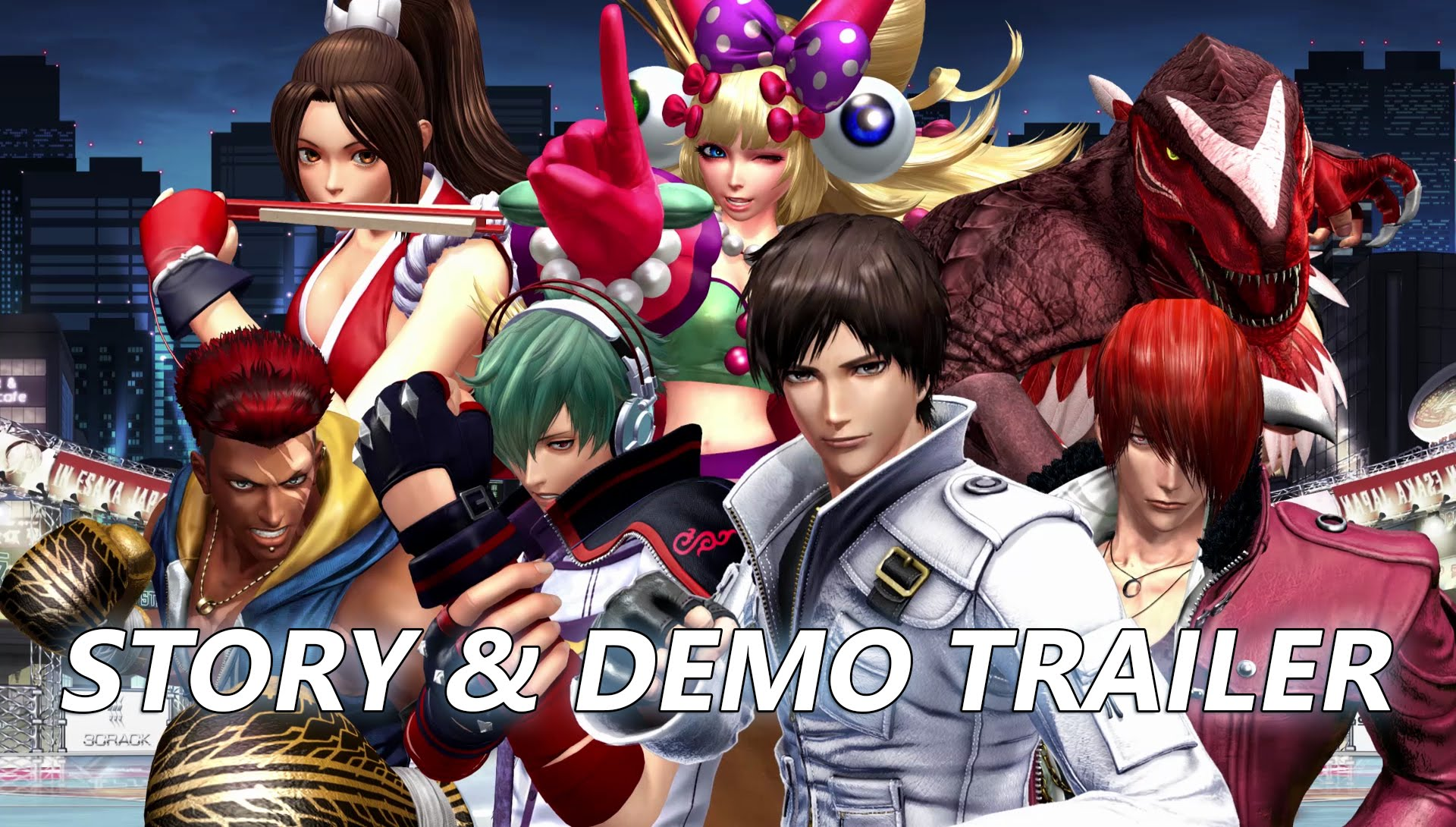 THE KING OF FIGHTERS XIV: Story & Demo Trailer