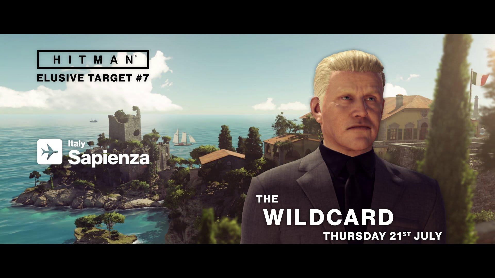 HITMAN Elusive Target #7 - The WildCard (Gary Busey)