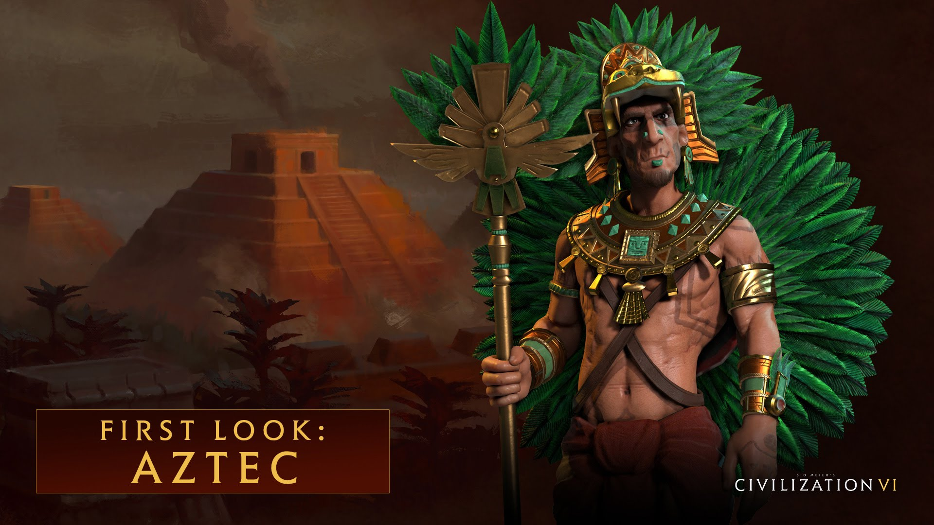 CIVILIZATION VI - First Look: Aztec