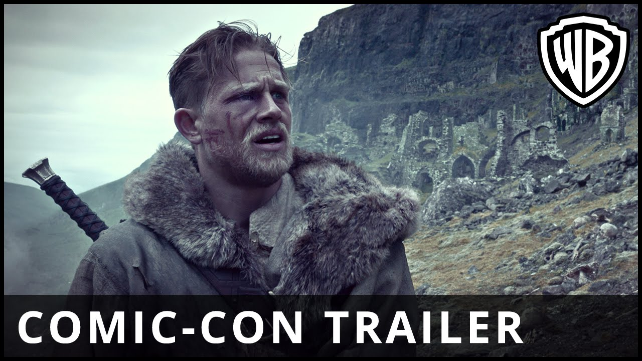 King Arthur: Legend of the Sword – Comic-Con Trailer