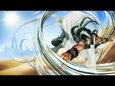 Street Fighter V: Rashid announcement trailer