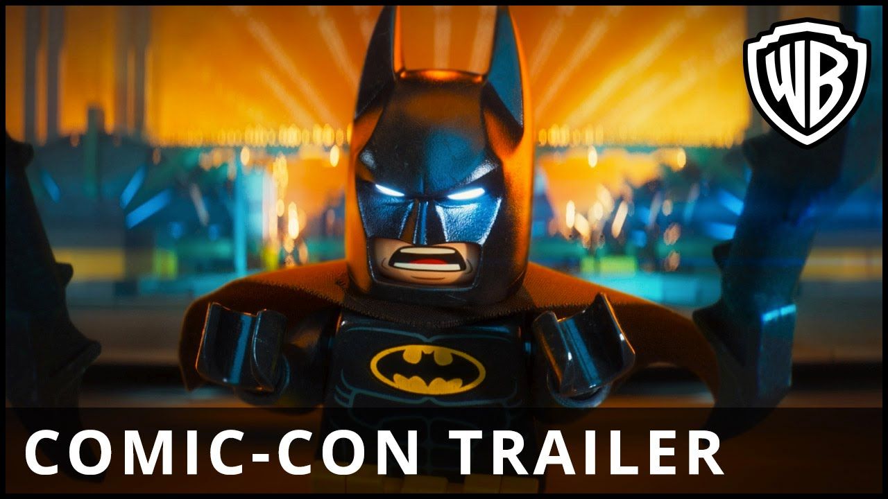 The LEGO® Batman™ Movie – Comic-Con Trailer