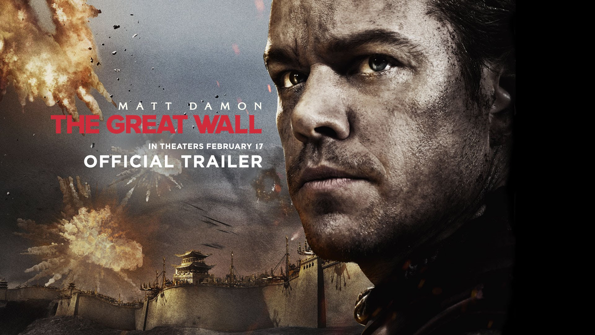 The Great Wall - Official Trailer (HD)