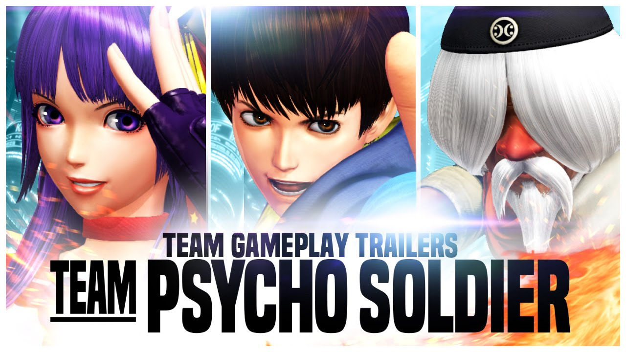 THE KING OF FIGHTERS XIV: Team Psycho Soldier