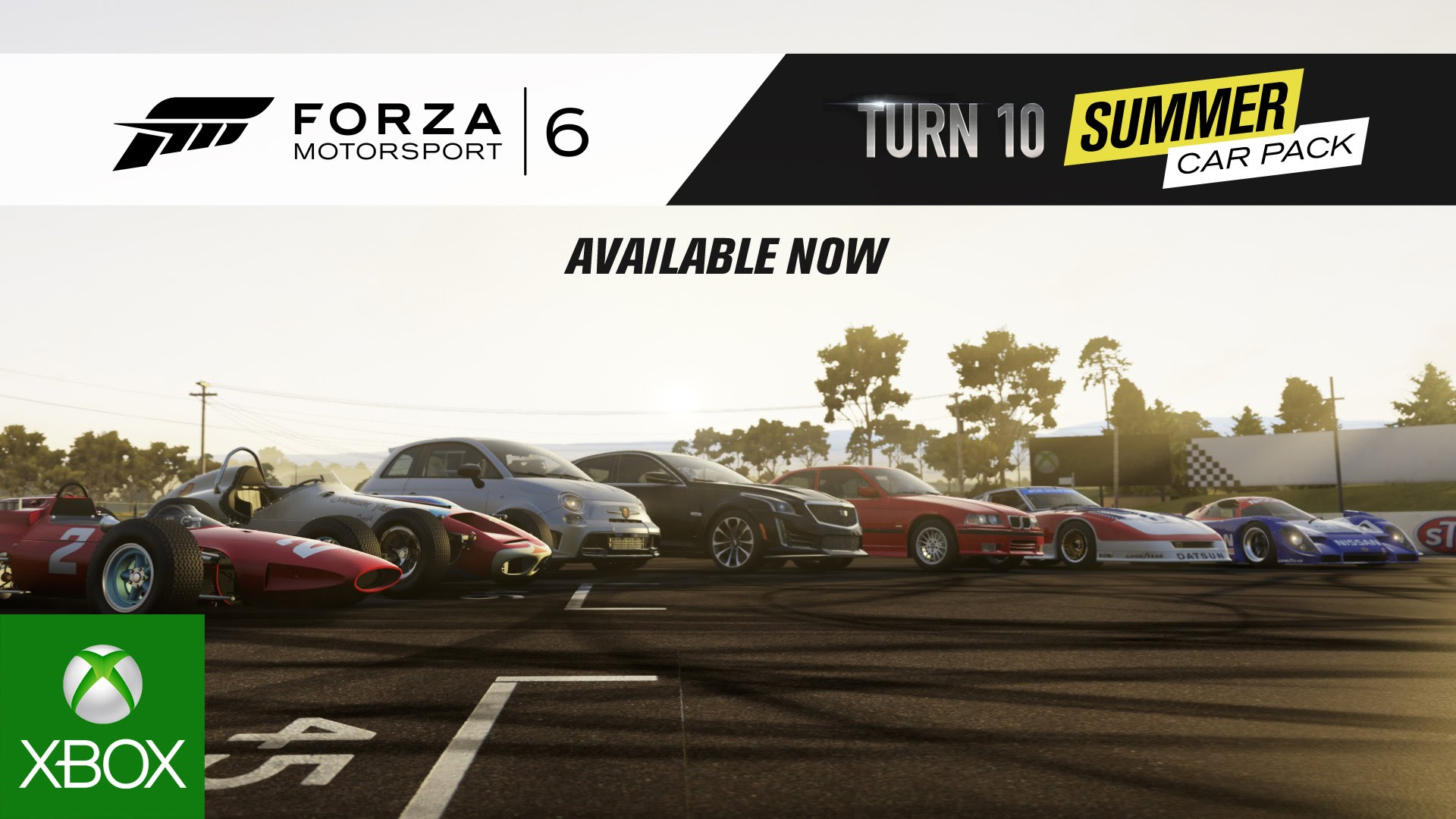 Forza Motorsport 6 Turn 10 Summer Car Pack