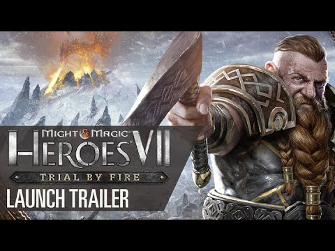 Might & Magic Heroes VII: Trial by Fire - Launch Trailer