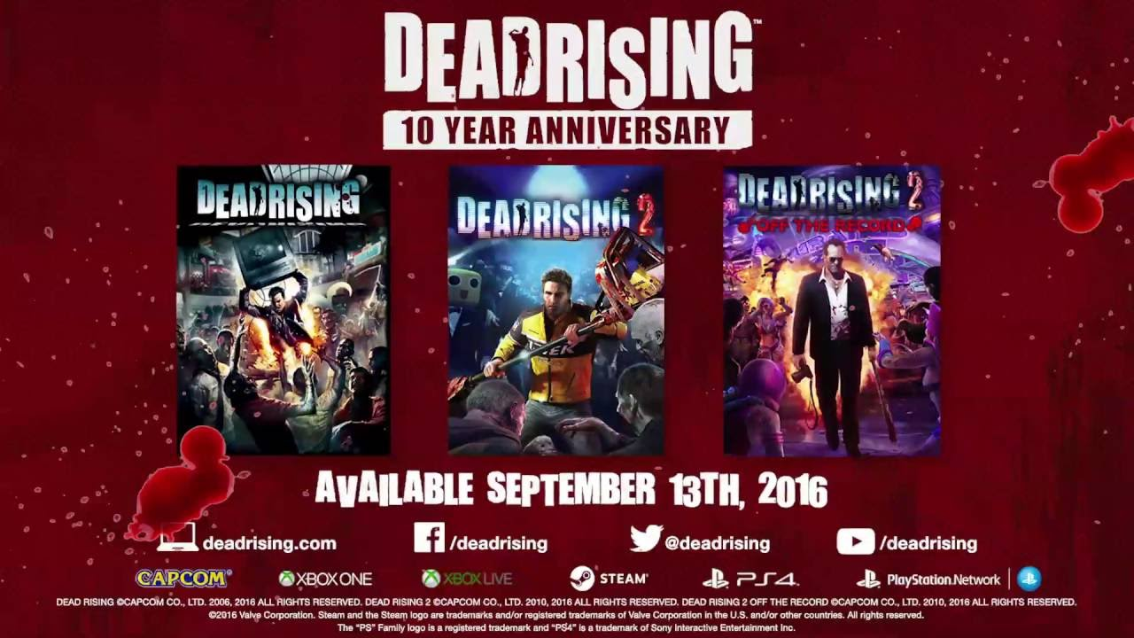 Dead Rising 10th Anniversary Announcement Trailer