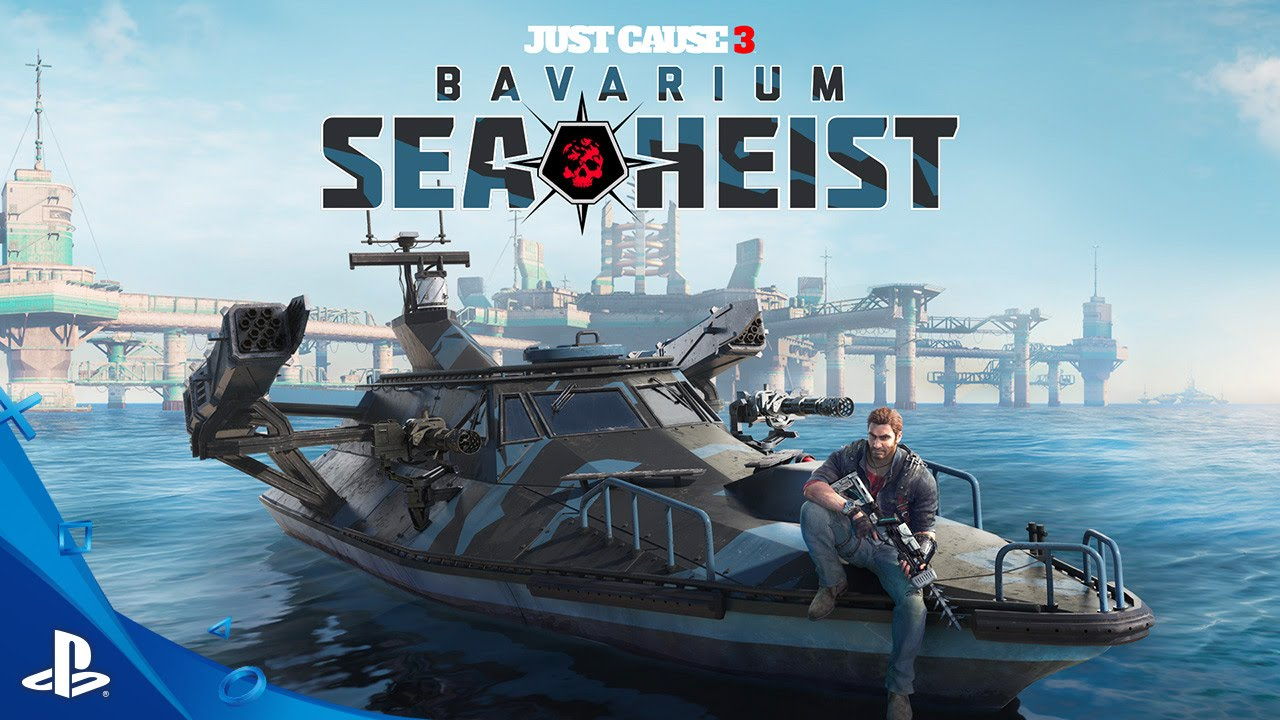Just Cause 3 - Bavarium Sea Heist - Launch Trailer