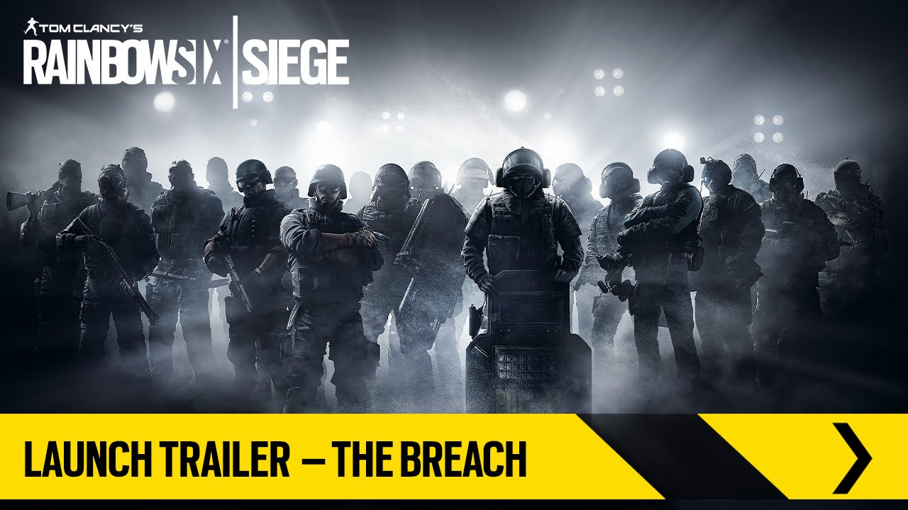 Tom Clancy's Rainbow Six Siege – Launch Trailer – The Breach