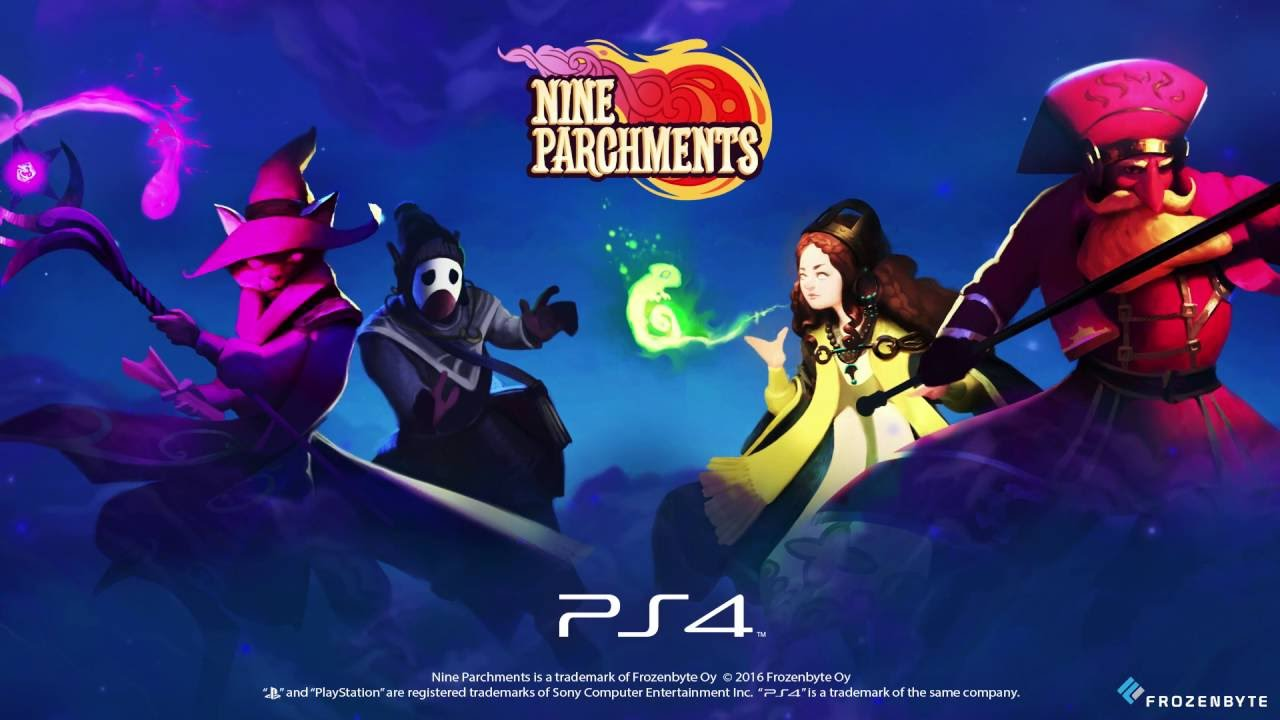Nine Parchments | Announcement trailer