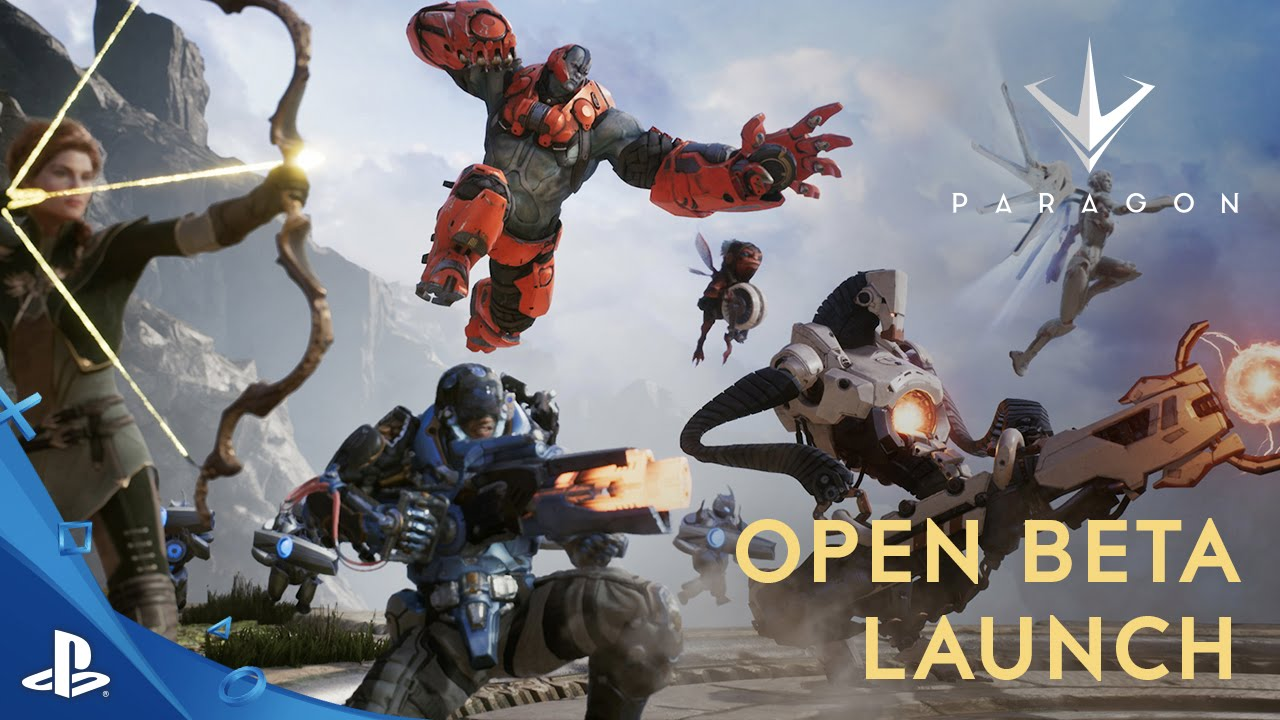 Paragon - Open Beta Launch Trailer