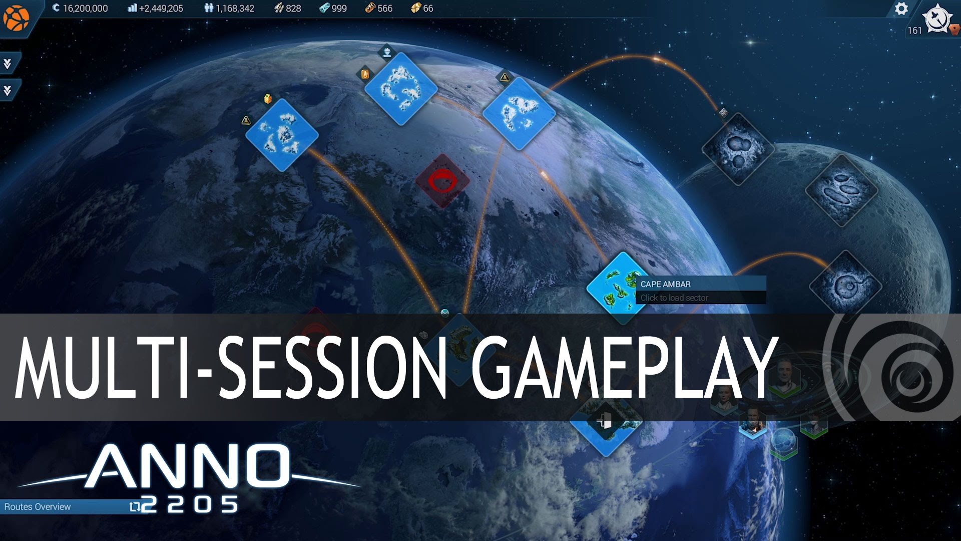 Anno 2205 - Feature Special - Multi-Session Gameplay