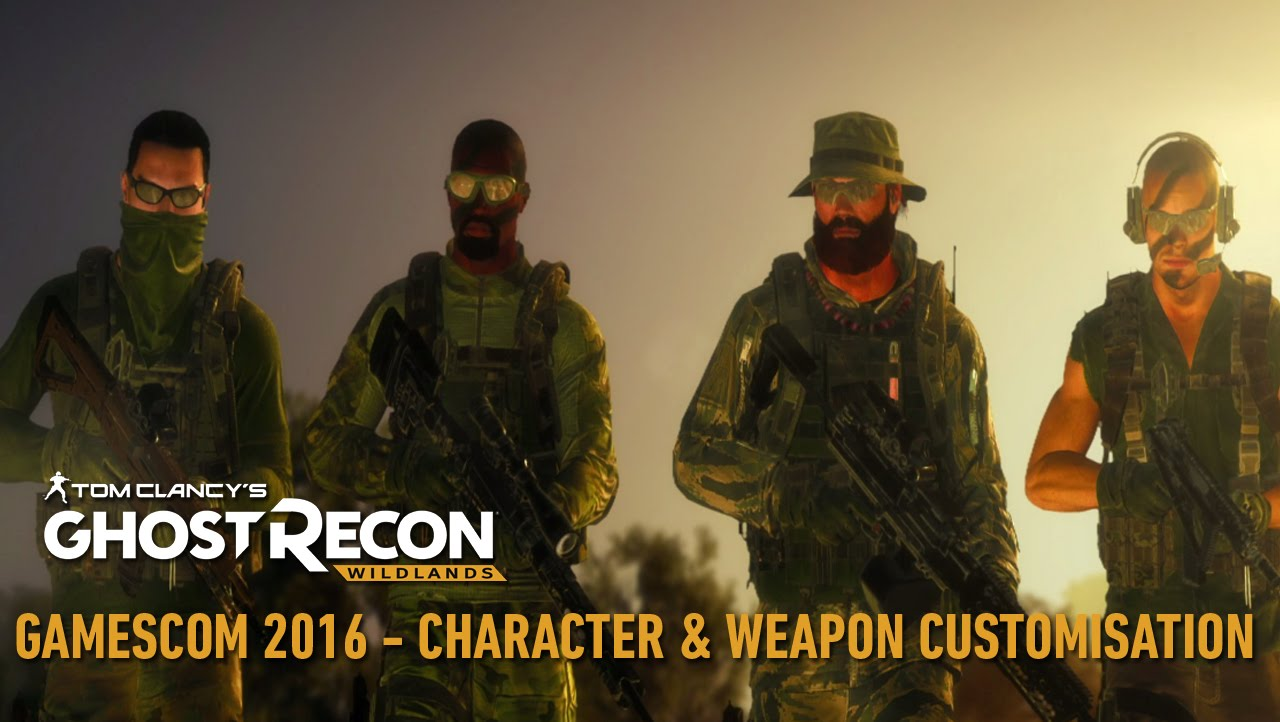 Tom Clancy's Ghost Recon Wildlands Trailer: Character & Weapons Customisation - Gamescom 2016