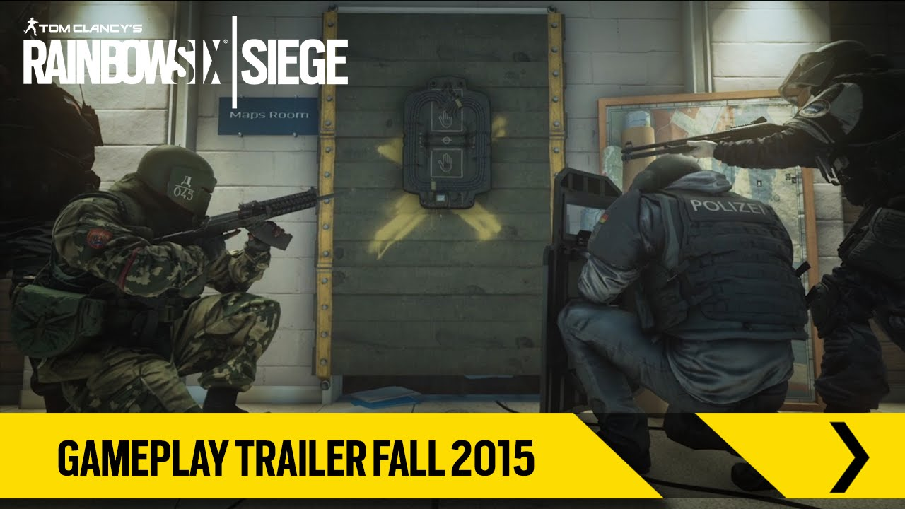 Tom Clancy's Rainbow Six Siege – Gameplay Trailer Fall 2015