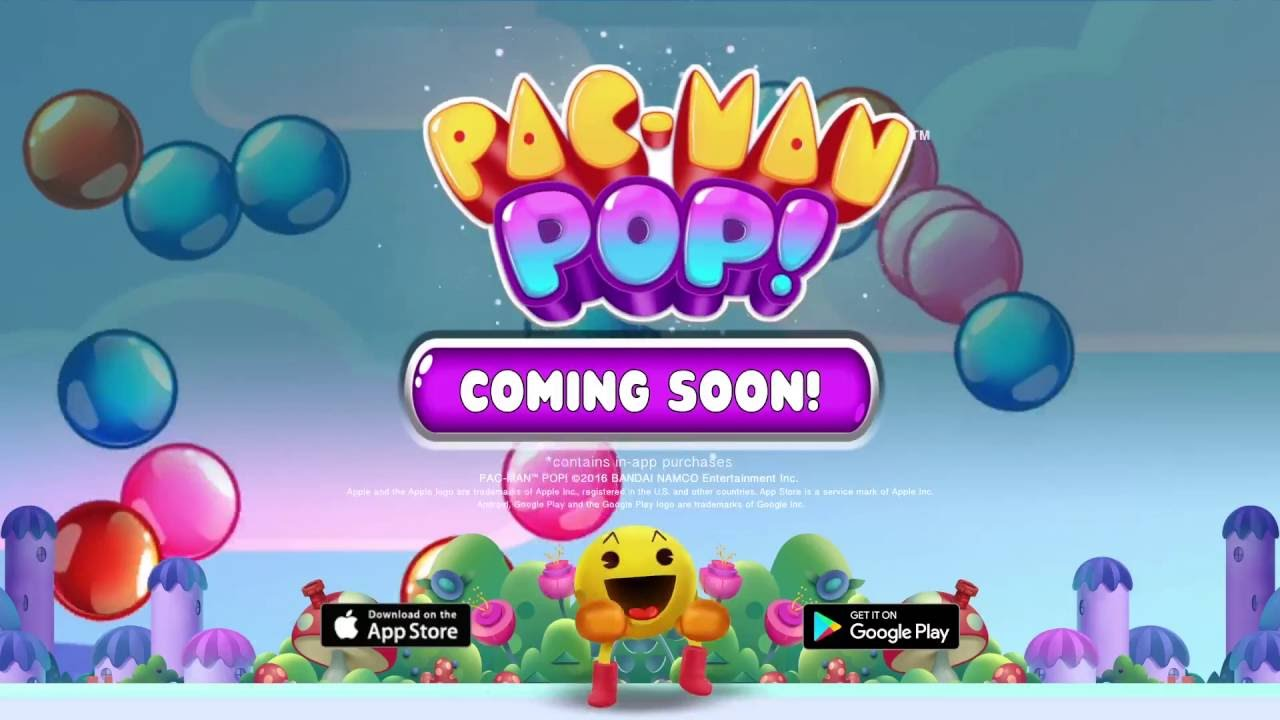 PAC-MAN Pop Launch Trailer | iOS, Android