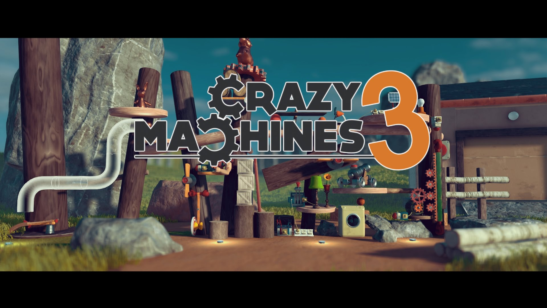 Crazy Machines 3 - Release Date Teaser