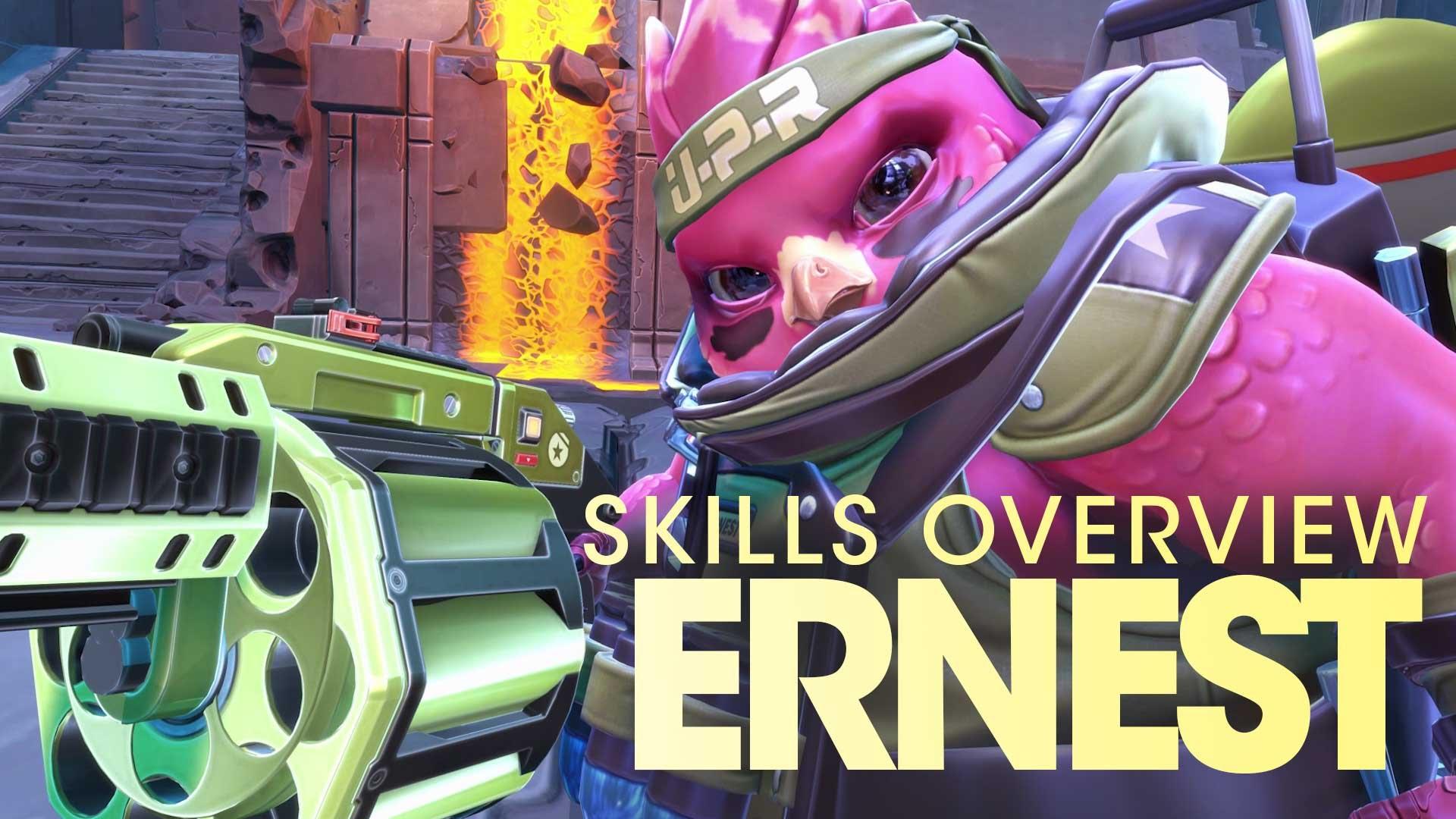 Battleborn - Ernest Skills Overview