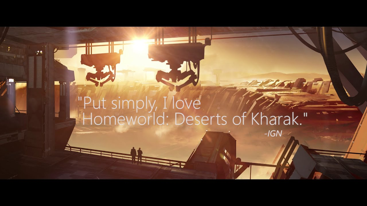 Homeworld: Deserts of Kharak Accolades Trailer