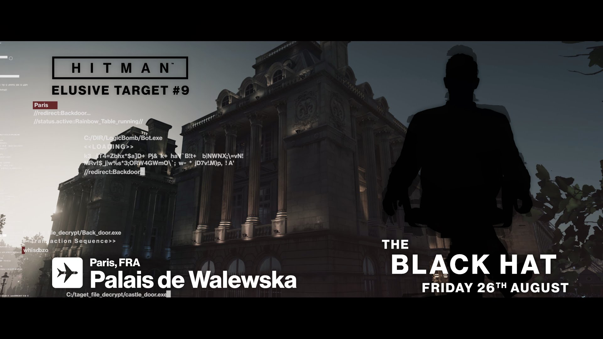 HITMAN Elusive Target #9 The Black Hat