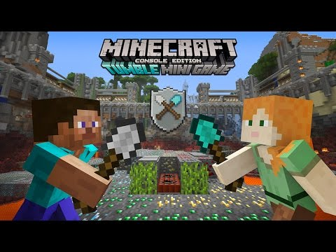 Tumble: the new Minecraft mini game for consoles