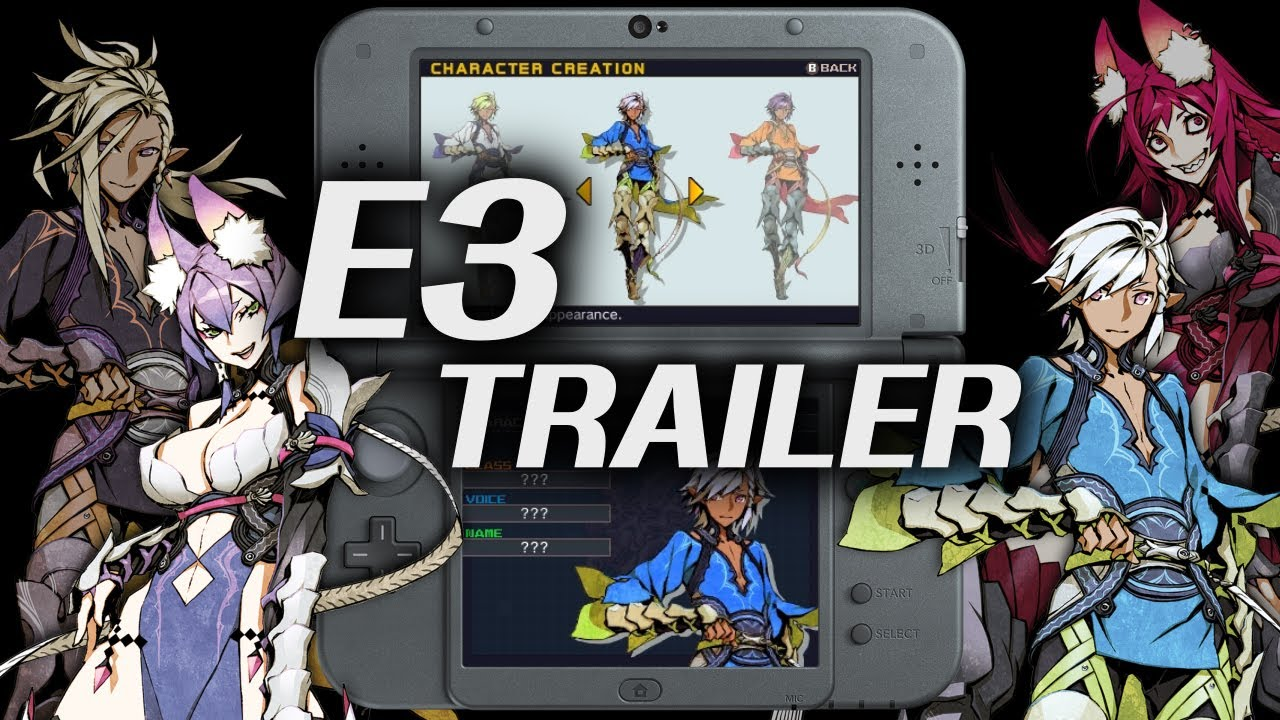 7th Dragon III Code: VFD E3 2016 Trailer