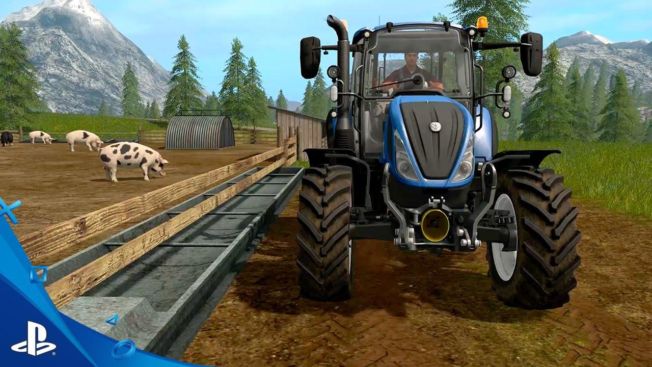 "Farming Simulator 17 - ""Tending to Animals"" Gameplay Trailer #2"