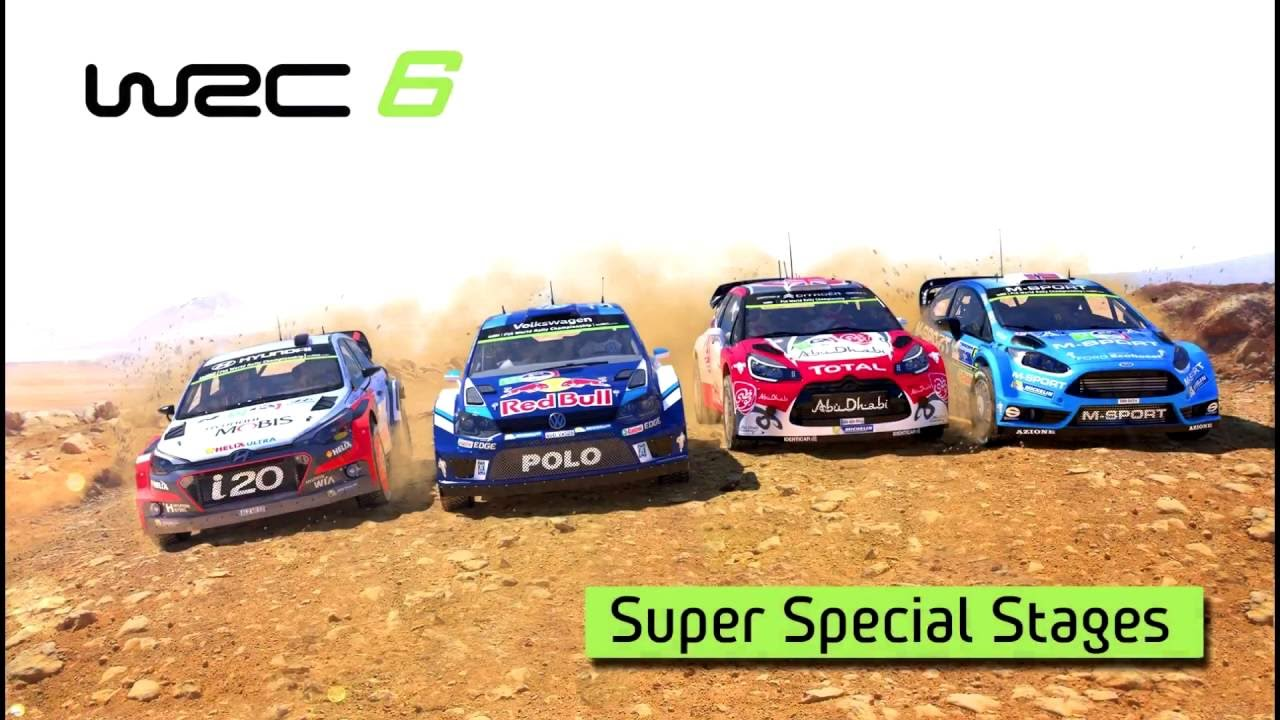 WRC 6  - Super Special Stages Trailer