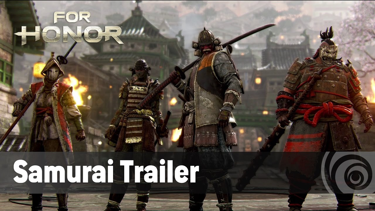 For Honor - The Samurai - Official Trailer (TGS 2016)