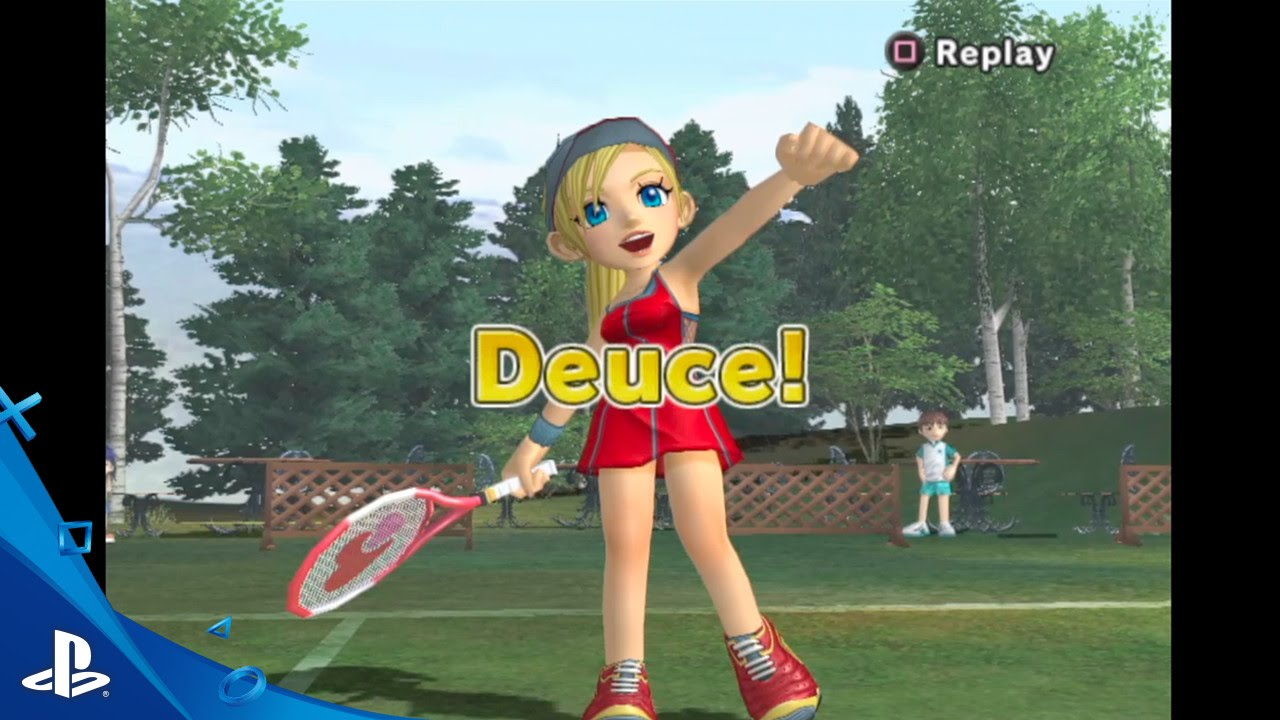 Hot Shots Tennis - Gameplay Video 1