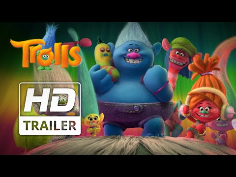 DreamWorks' Trolls | Official HD Trailer #3