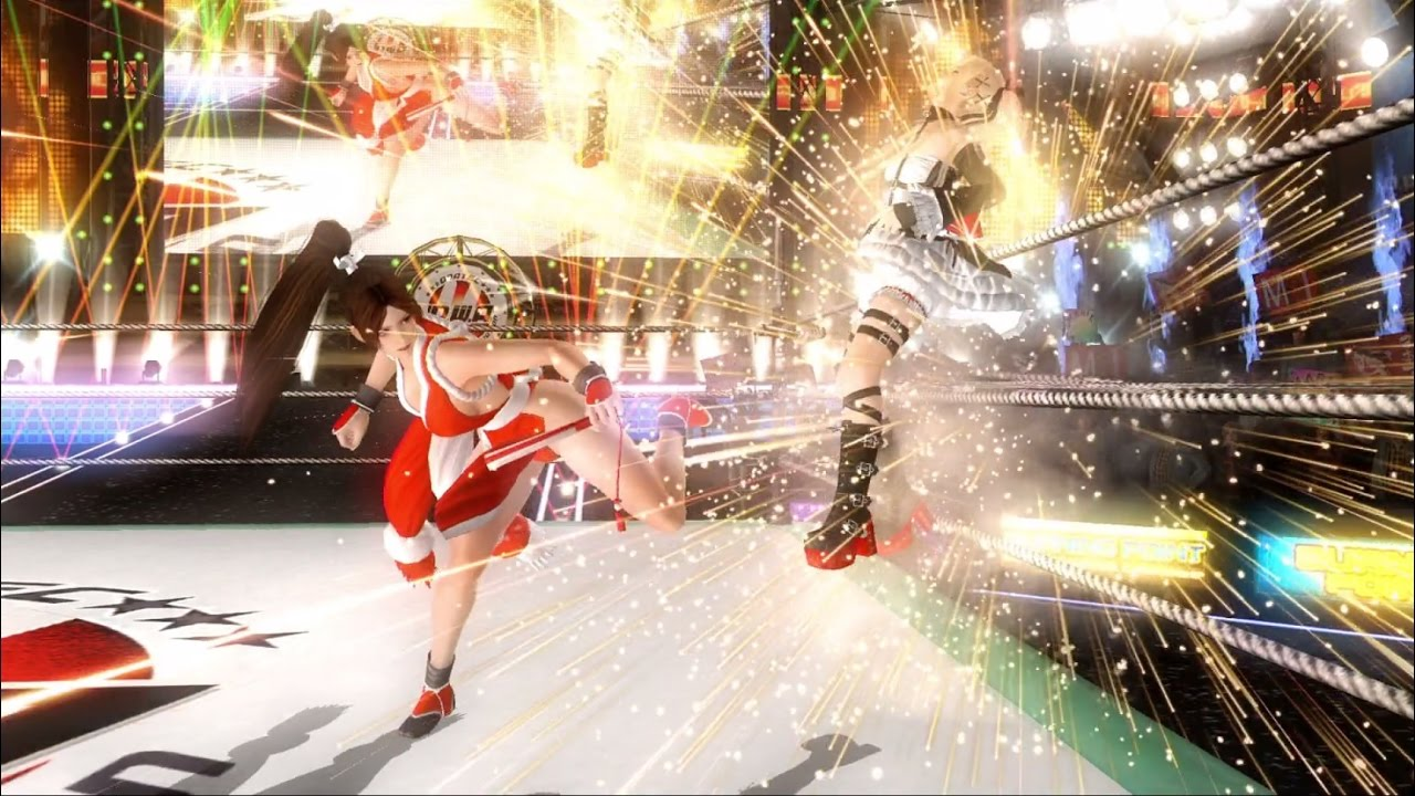 Dead or Alive 5 Last Round: Mai Shiranui's Combo Video
