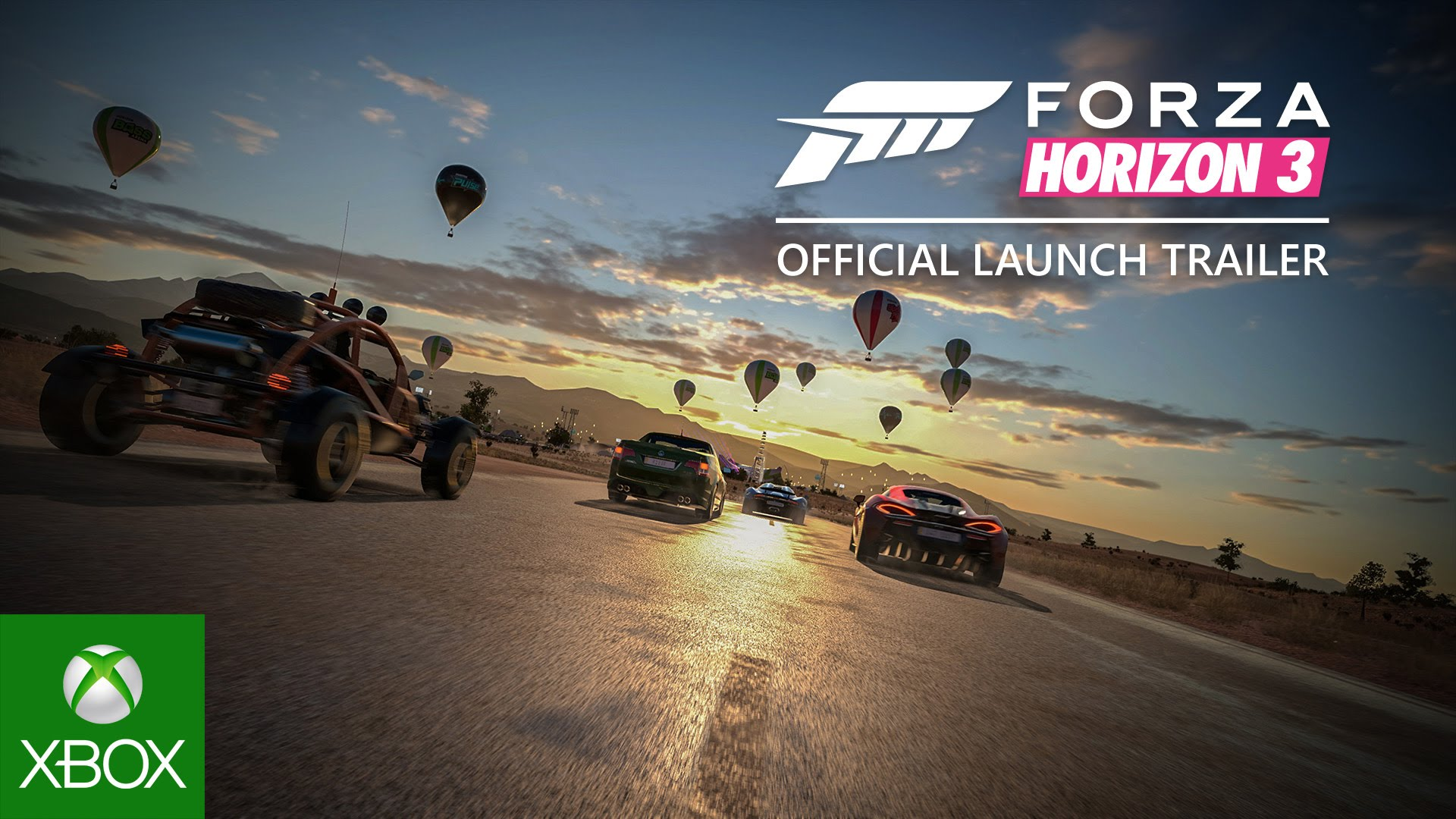 Forza Horizon 3 Official Launch Trailer