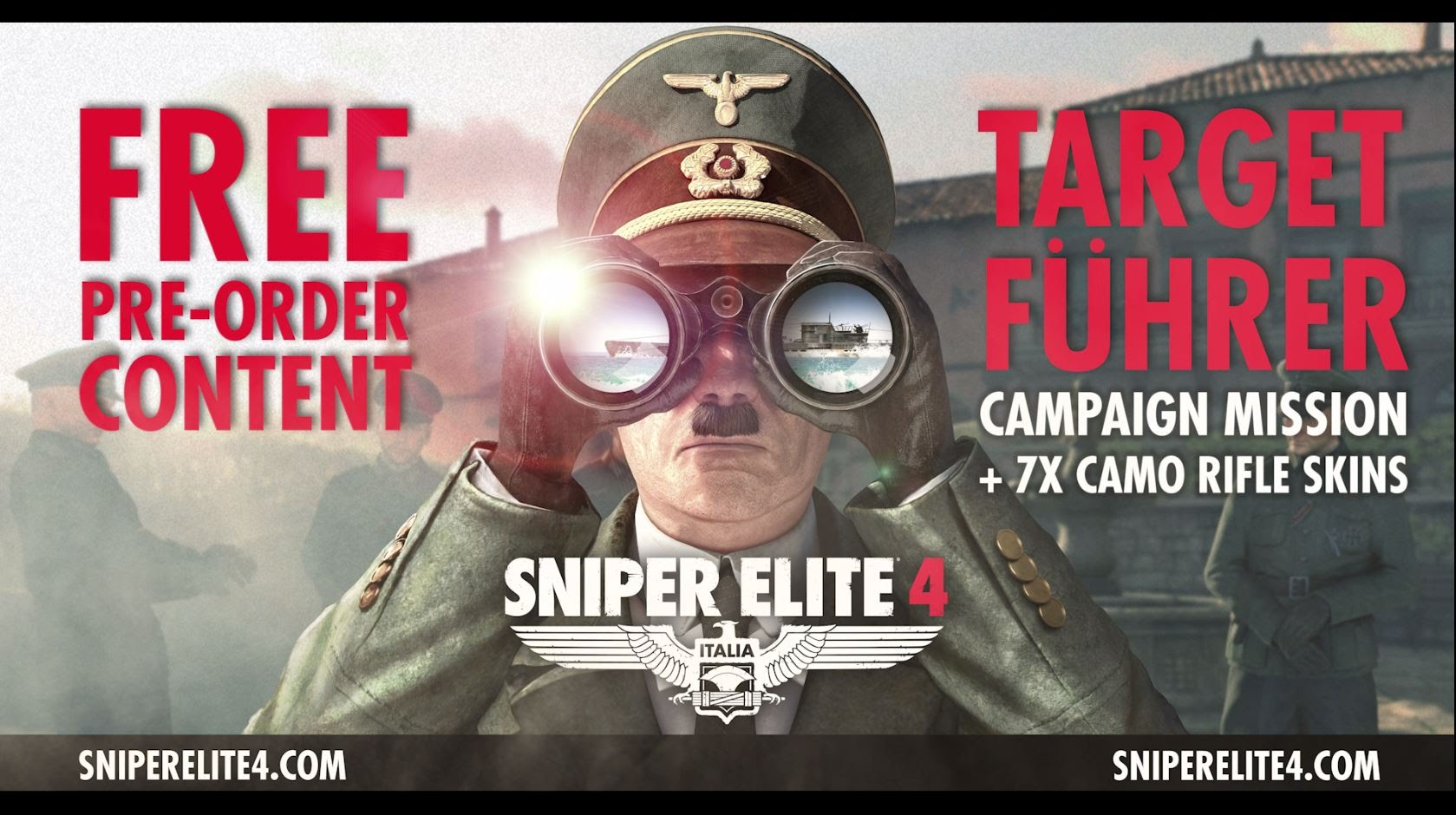 Sniper Elite 4 | First Gameplay Trailer & Target Führer Teaser
