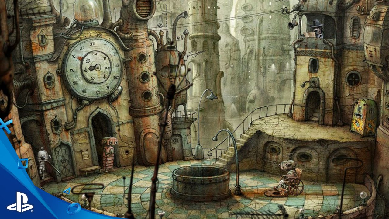 Machinarium - Preview Trailer