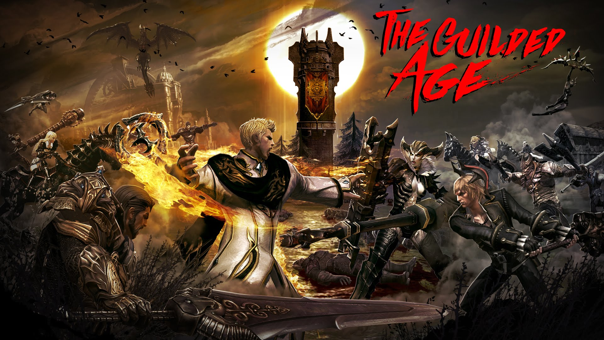 TERA: The Guilded Age Launch Trailer