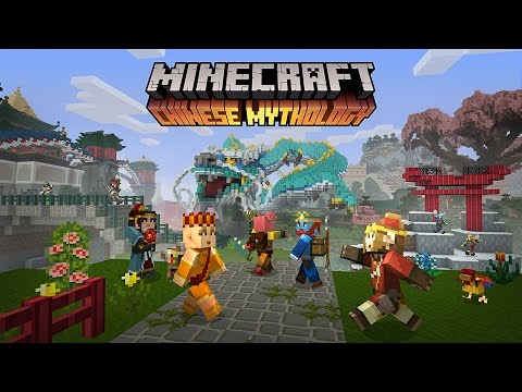 Minecraft Chinese Mythology Mash-Up Pack