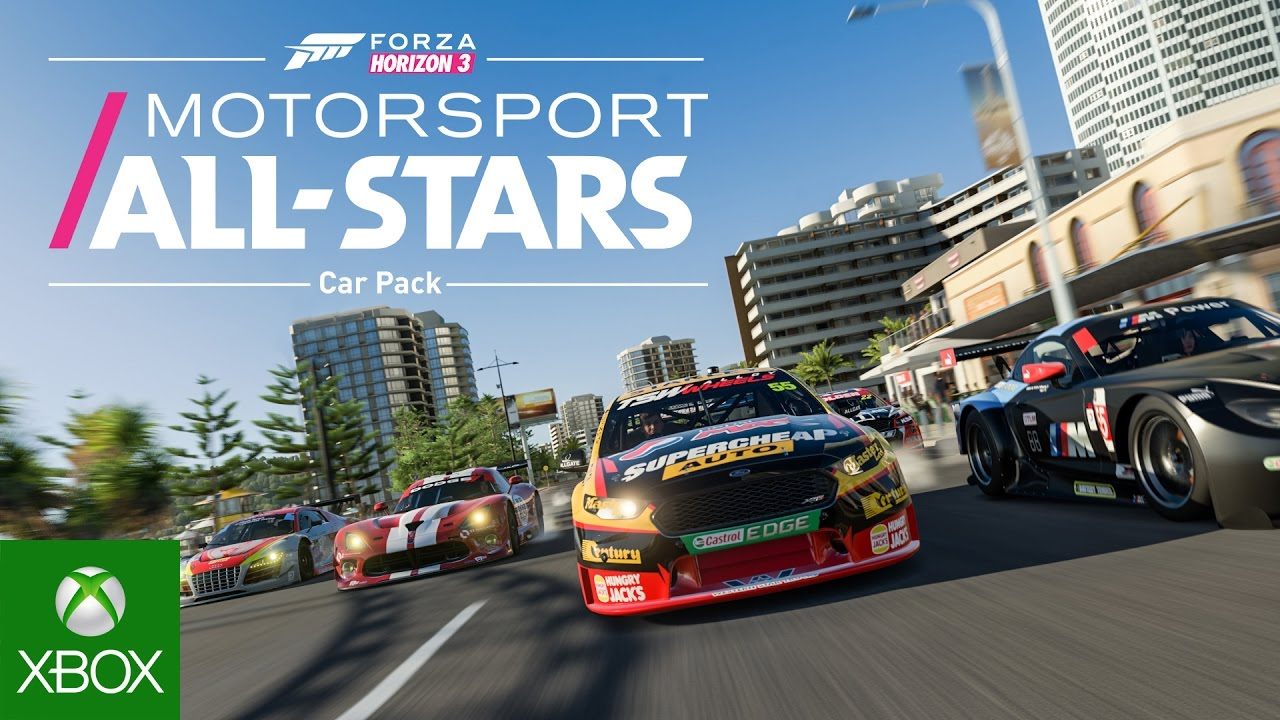 Forza Horizon 3 Motorsport All-Stars Car Pack