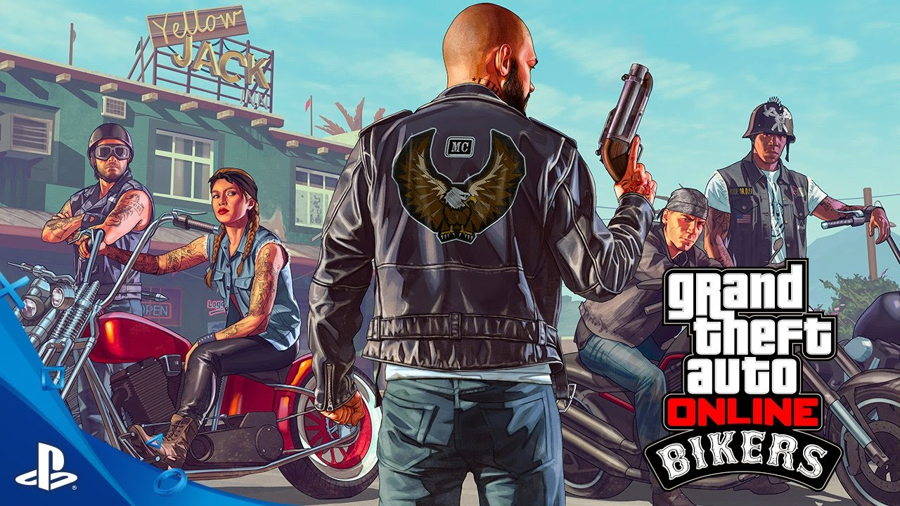 GTA Online - Bikers Trailer