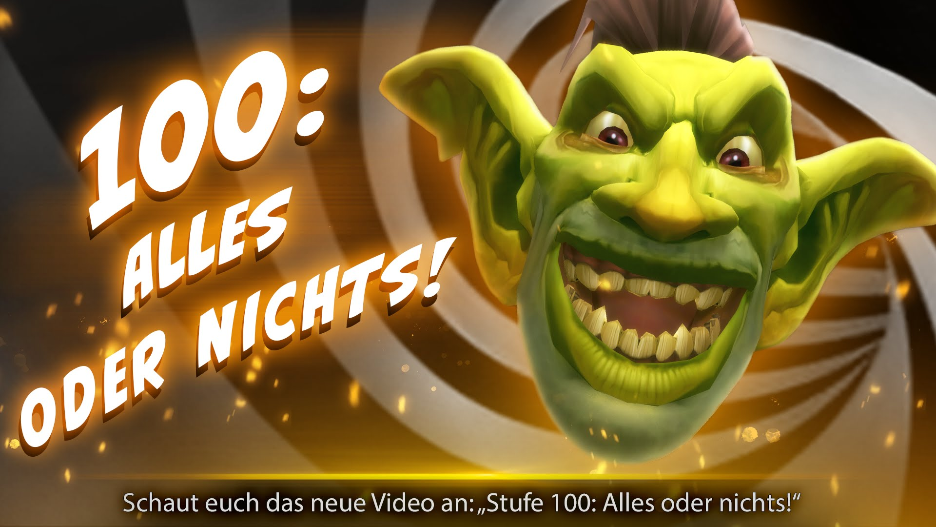"World of Warcraft: Legion-Trailer ""Level 100: Alles oder Nichts!"""