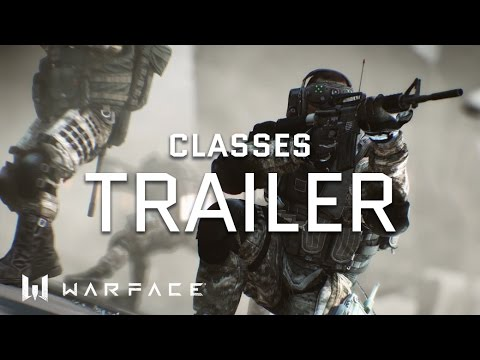 Warface - Trailer - Classes