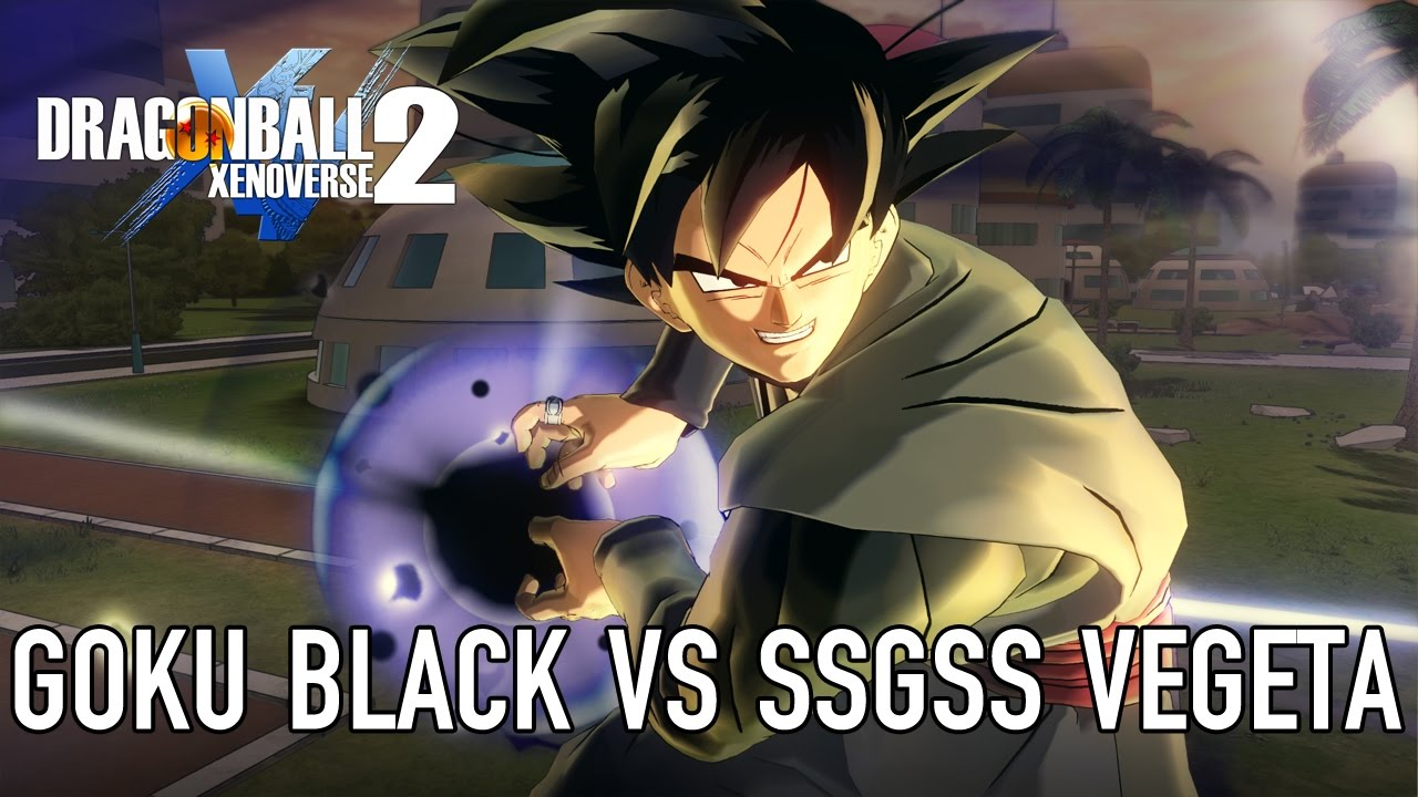 Dragon Ball Xenoverse 2 - Goku Black (Gameplay Footage)