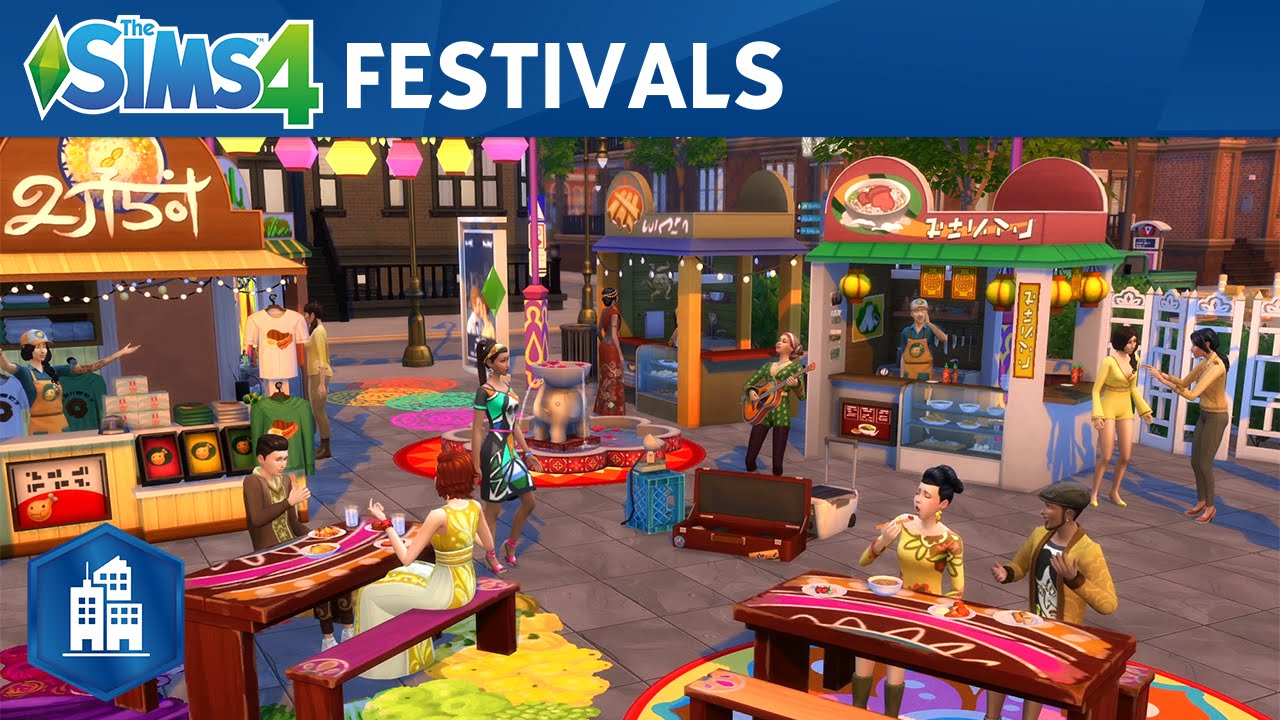 The Sims 4 City Living: Official Festivals Trailer
