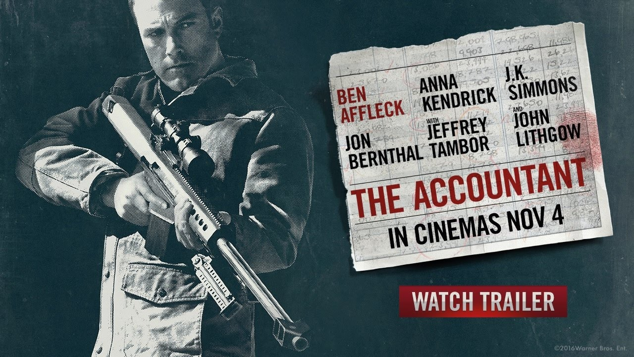 The Accountant - TV Spot
