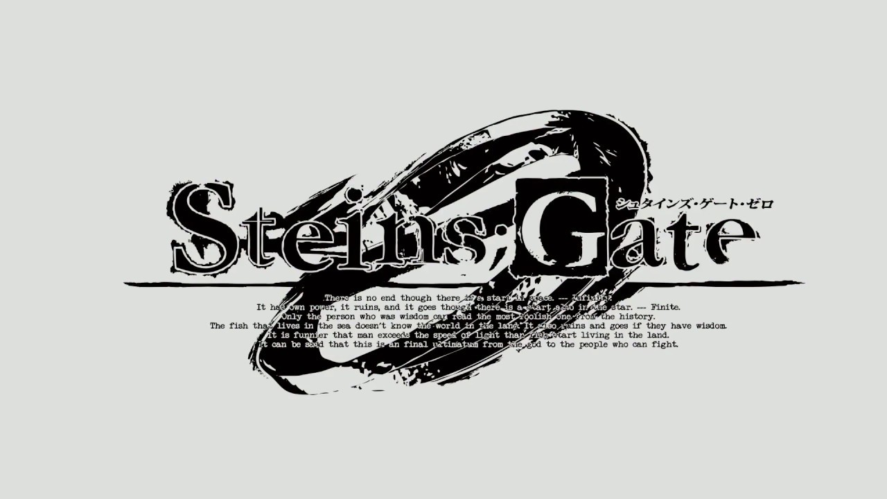 Steins;Gate Zero Announcement Trailer