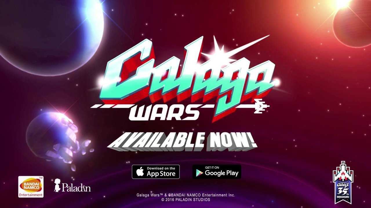 Galaga Wars - Android/IOS - Launch Trailer